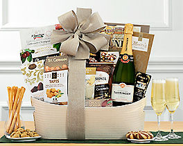 Suggestion - Taittinger La Francaise Champagne Basket Original Price is $225