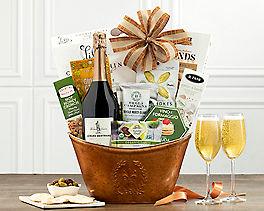Suggestion - Thomas Jefferson Brut Wine Gift Basket Original Price is $79.95