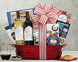 Suggestion - Franciscan Red and White Wine Gift Basket