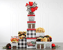 Suggestion - Nostalgic Holiday Tin Tower