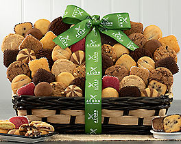 Suggestion - Holiday Cookies, Brownies and Coffee Gift Basket