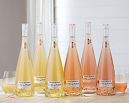 Suggestion - Cote des Roses Chardonnay and Rose - 6 Bottles Original Price is $165
