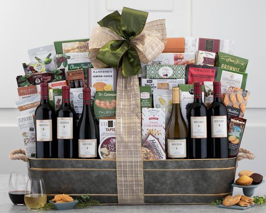 houdini vineyards napa valley exclusive gift basket at wine