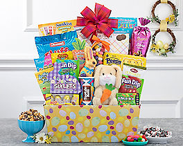 Suggestion - Deluxe Easter Bunny and Candy Gift Basket