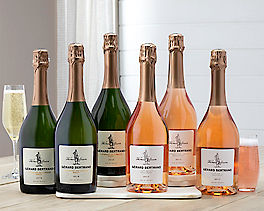 Suggestion - Thomas Jefferson Brut and Brut Rose - 6 Bottles Original Price is $165