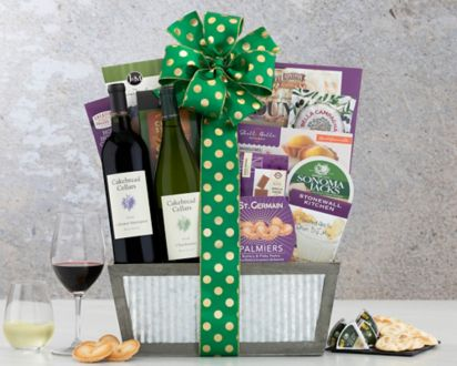 Cakebread Cellars Napa Valley Duet Wine BasketCakebread Cellars Napa Valley Duet Wine Basket ...