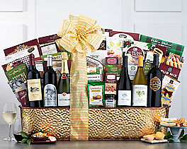 Suggestion - The Ultimate Champagne and Wine Gift Basket