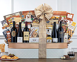 Suggestion - Legendary Reds - Ultimate Wine Lovers Gift Basket Original Price is $650
