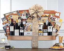 Suggestion - California Dreaming Grand Wine Gift Basket