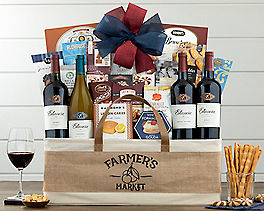 Suggestion - Estancia Vineyards Quartet Wine Basket Original Price is $180