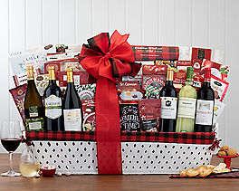 Suggestion - Grand California Wine Christmas Gift Basket