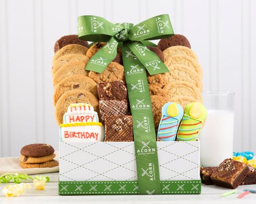 Say Happy Birthday with a Basket Post