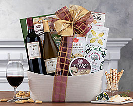 Suggestion - Houdini Napa Valley Duet Wine Basket