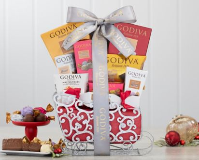 Godiva Truffle and Cocoa SleighGodiva Truffle and Cocoa Sleigh ...