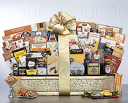 Suggestion - Grand Gourmet Gift Basket Original Price is $350.00