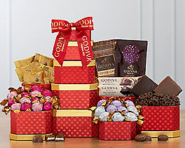 Suggestion - Deluxe Godiva Gift Tower Original Price is $64.95