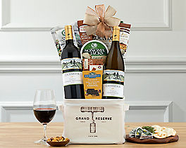 Suggestion - Cliffside Vineyards Red and White Gift Tote