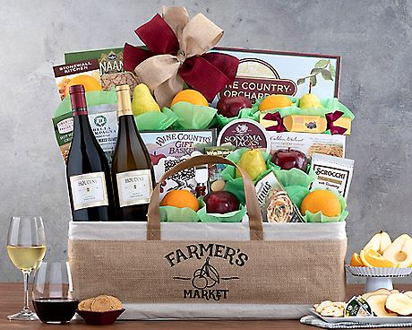Image result for Houdini Vineyards Napa Valley Fruit Collection Gift Basket