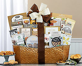 Suggestion - The Midas Touch Gourmet Gift Basket Original Price is $150