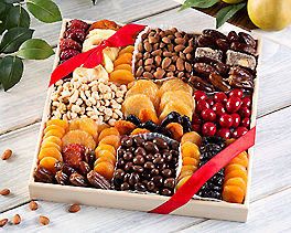 Suggestion - Deluxe Dried Fruit, Nuts and Sweets Tray Original Price is $115.00