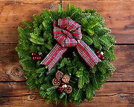 Suggestion - Highland Holiday Wreath (20 inch)