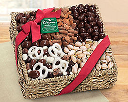 Suggestion - Mendocino Organic Chocolate and Nut Gift Basket