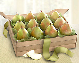 Suggestion - Organic D'Anjou Pears Fruit Gift Basket Original Price is $74.95