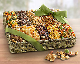 Suggestion - Deluxe Savory Snack Basket Original Price is $99.95