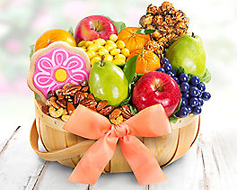 Suggestion - Deluxe Fruit & Sweets Gift Basket