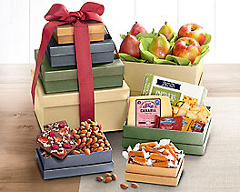 Suggestion - Fruit, Cheese and More Gift Tower