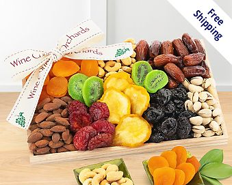 Item 511 - Dried Fruit and Nut Collection FREE SHIPPING