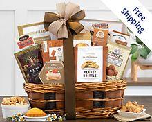 Bon Appetit Gourmet Gift Basket Gift Basket  Free Shipping