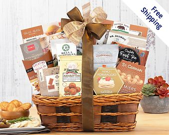 Gourmet gift baskets at wine country gift baskets quick look wishlist wishlist bon appetit gift basket negle Choice Image