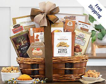 Item 514 - Bon Appetit Gourmet Gift Basket FREE SHIPPING