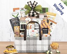 The Connoisseur Gift Basket  Free Shipping
