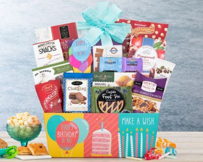 Happy Birthday Gift BasketHappy Basket