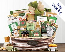 Many Thanks Gourmet Gift Basket Gift Basket Free Shipping