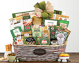 Suggestion - Many Thanks Gourmet Gift Basket