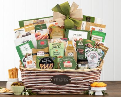Many Thanks Gourmet Gift BasketMany Thanks Gourmet Gift Basket ...