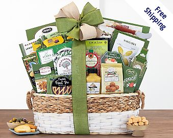 The Gourmet Gift Basket  Free Shipping