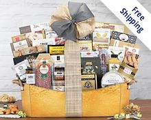 The V.I.P. Gift Basket  Free Shipping