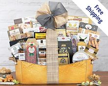 The V.I.P. Gourmet Gift Basket Gift Basket  Free Shipping