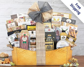 The V.I.P. Gift Basket Gift Basket  Free Shipping