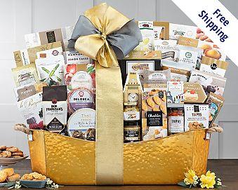 The V.I.P. Gourmet Gift Basket Gift Basket  Free Shipping