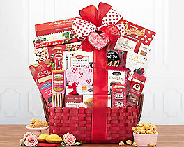 Suggestion - Valentine Extravaganza Gift Basket