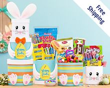 Easter Bunny Tower Free Shipping