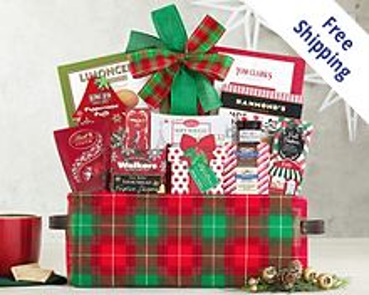 Happy Holidays Gift Basket Gift Basket