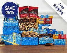 Ghirardelli Tower Free Shipping 25% Save Original Price is $29.95