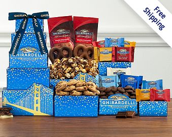 Ghirardelli Tower Free Shipping