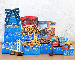 Suggestion - Deluxe Ghirardelli Chocolate Tower